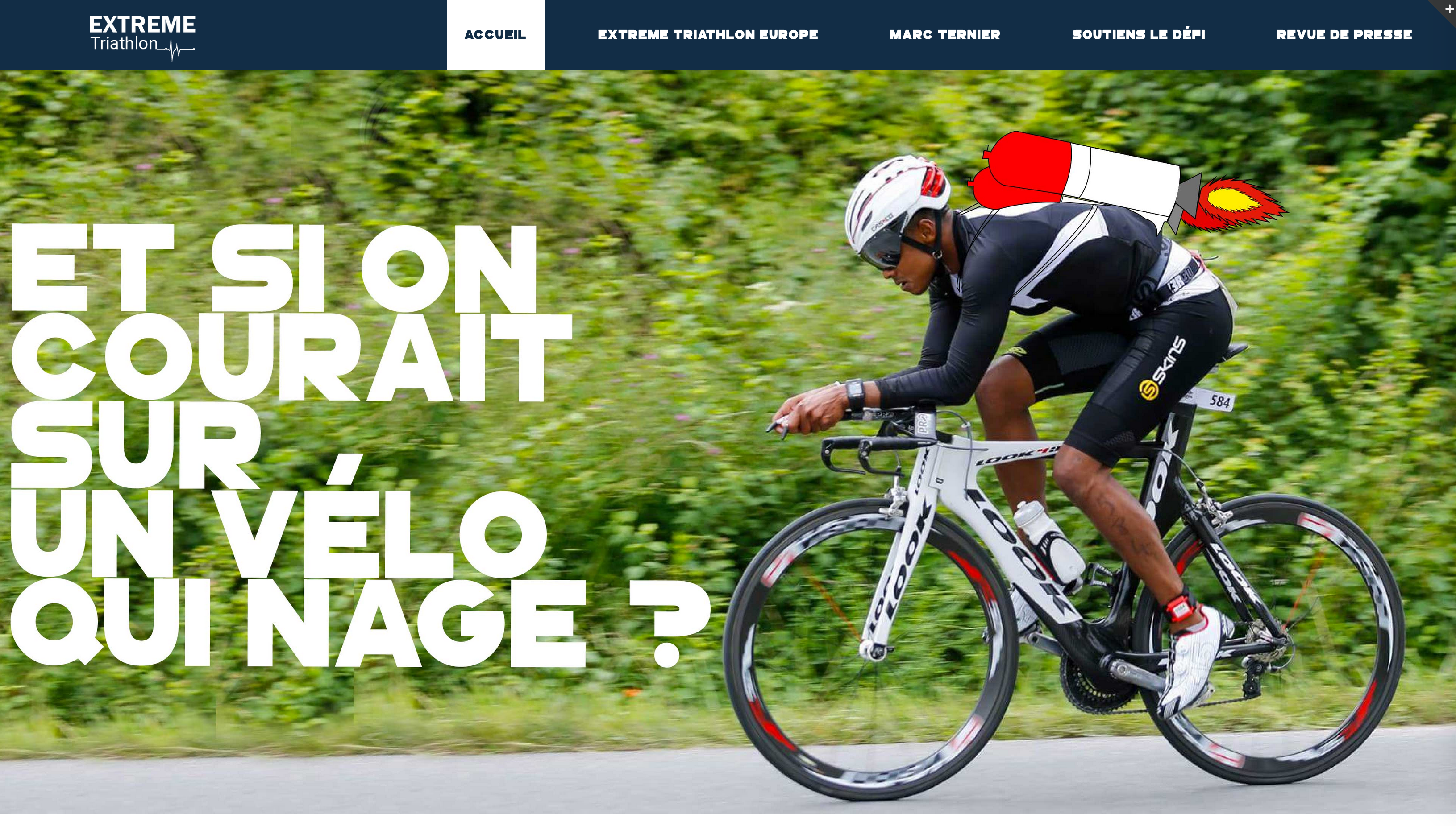 Projet Extreme triathlon Digital Campus Bordeaux